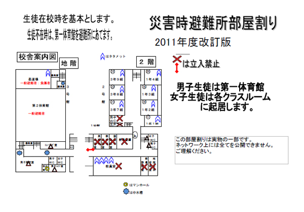 Reference 2: Allocation of rooms for emergency shelter during disasters