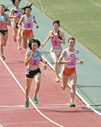 Sports】表紙の人 陸上女子七種...