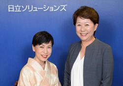 富永由加里 田中優子