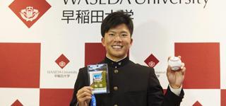 楽天ドラフト1位の早川隆久、伝説を残す選手へ 1年目からの活躍誓う
