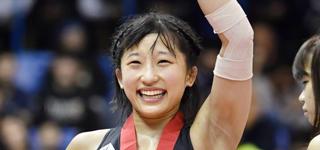 レスリング部・須崎優衣 早大生としての誇りを胸に東京2020大会で「金」を取る